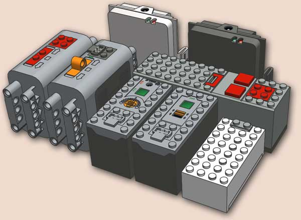Batteries and Battery packs on