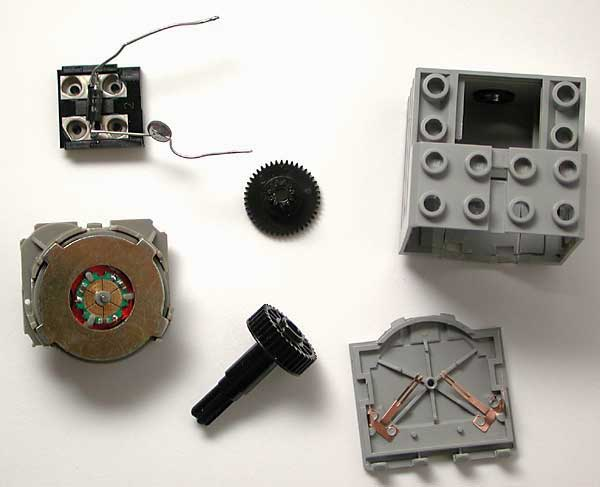 Lego Technic Motor 43362 internals
