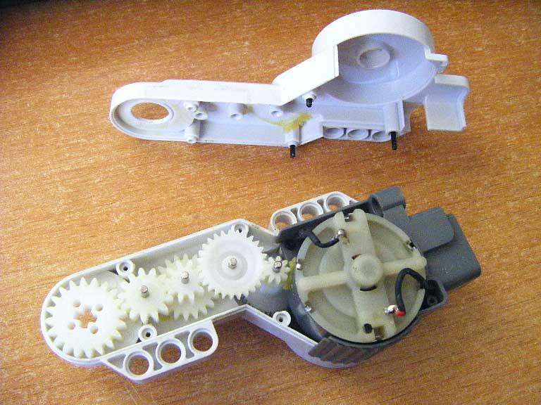 NXT® motor internals
