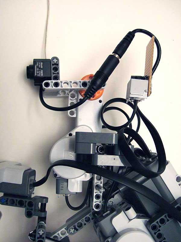 Deriving Power From Nxt Motor Port A