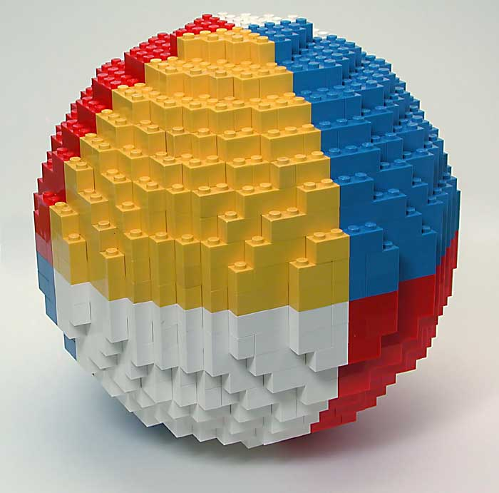 Origami Magic Ball | Geometric sphere, folded from just smal… | Flickr | 691x700